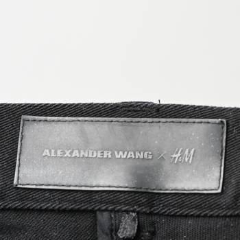 бирка Джинсы Alexander Wang H&M