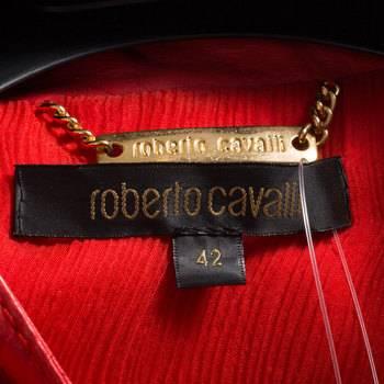 бирка Кожаная куртка  Roberto Cavalli