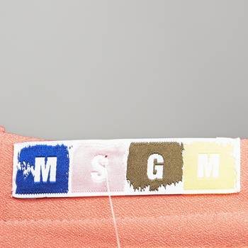 бирка Платье MSGM