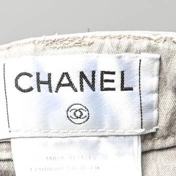 бирка Джинсы Chanel