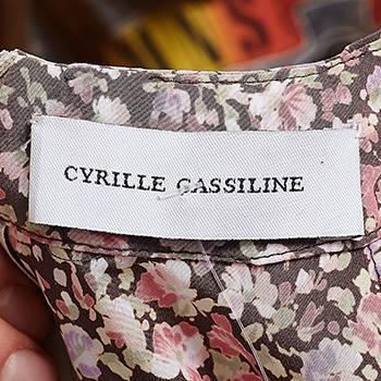 бирка Платье  Cyrille Gassiline