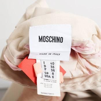 бирка Тренч Moschino