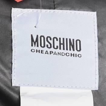 бирка Плащ Moschino Cheap and Chic