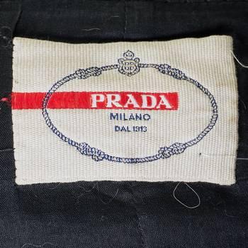 бирка Кожаная куртка Prada