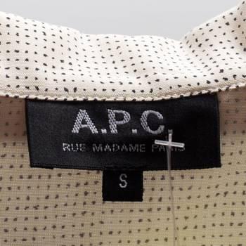 бирка Платье  A.P.C.