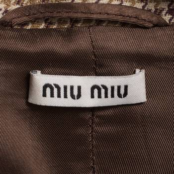 бирка Пальто  Miu Miu