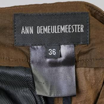 бирка Шорты Ann Demeulemeester