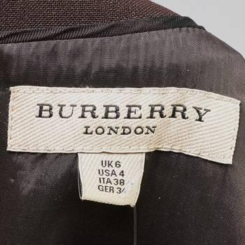 бирка Платье Burberry
