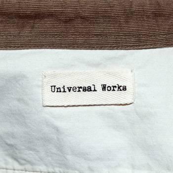 бирка Рубашка Universal Works