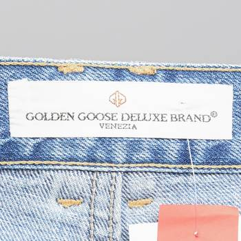 бирка Джинсы Golden Goose