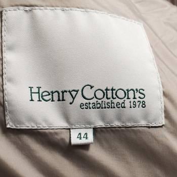 бирка Пуховик  Henry Cotton's
