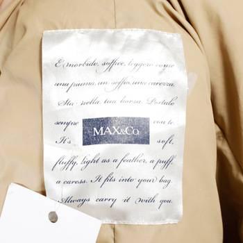 бирка Пуховик Max&Co