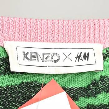 бирка Джемпер H&M x Kenzo