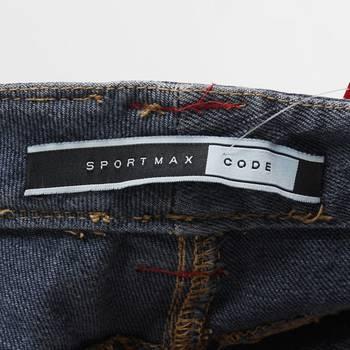 бирка Джинсы Sportmax Code