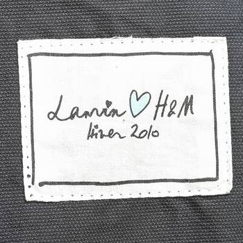 бирка Куртка H&M х Lanvin
