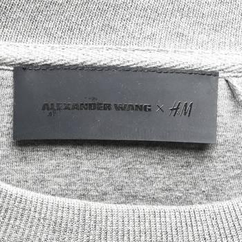 бирка Свитшот H&M x Alexander Wang
