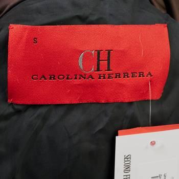 бирка Пуховик Carolina Herrera