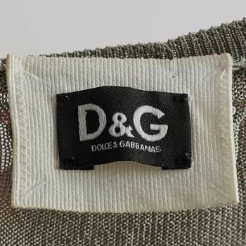 бирка Джемпер D&G