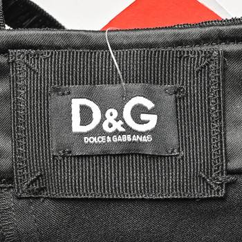бирка Платье D&G