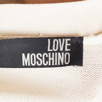 бирка Кардиган Love Moschino