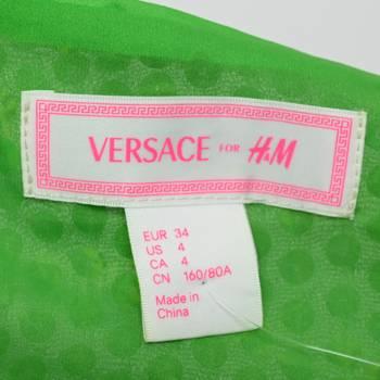 бирка Платье H&M х Versace