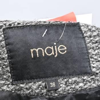 бирка Куртка Maje