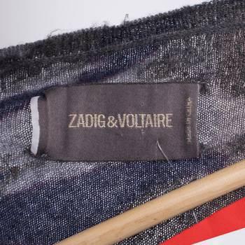 бирка Свитер  Zadig & Voltaire