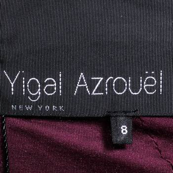бирка Платье Yigal Azrouel