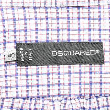 бирка Рубашка Dsquared2