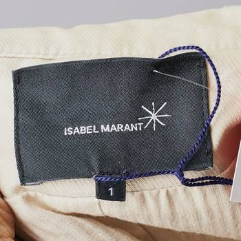 бирка Тренч Isabel Marant