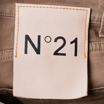 бирка Брюки N21