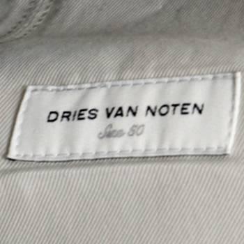 бирка Пиджак Dries Van Noten