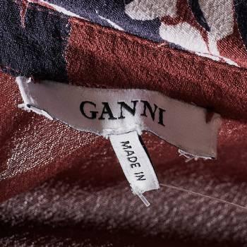 бирка Платье Ganni