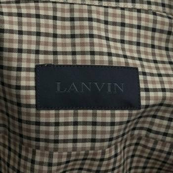 бирка Рубашка Lanvin