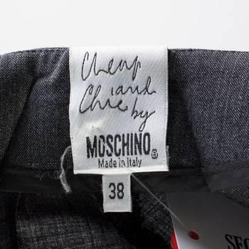 бирка Брюки  Moschino Cheap and Chic