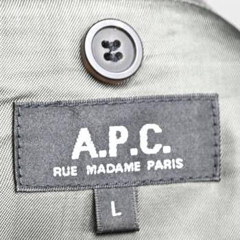 бирка Пиджак A.P.C.