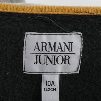 бирка Толстовка  Armani Junior