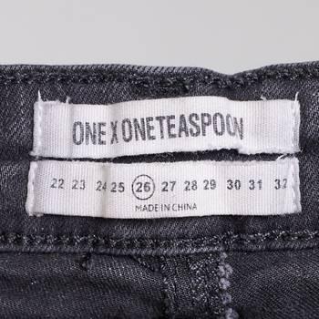 бирка Джинсы One Teaspoon