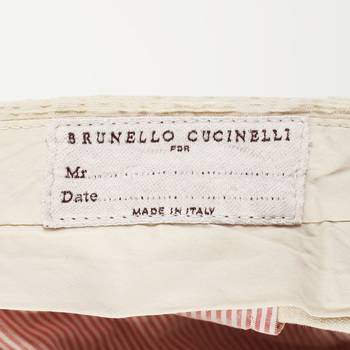 бирка Брюки Brunello Cucinelli