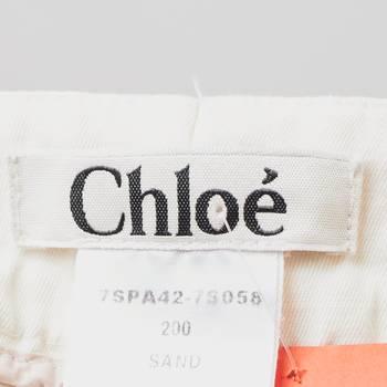 бирка Брюки Chloe