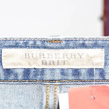 бирка Джинсы Burberry Brit