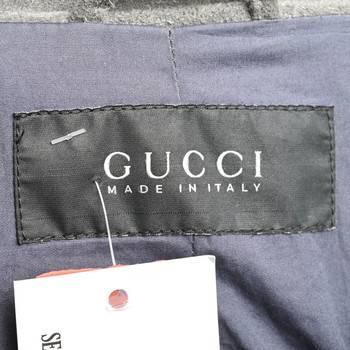 бирка Кожаная куртка Gucci
