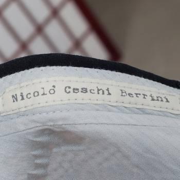 бирка Брюки  Nicolo Ceschi Berrini