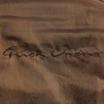 бирка Кожаная куртка Rick Owens