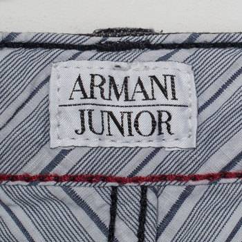 бирка Джинсы  Armani Junior