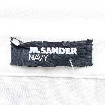 бирка Рубашка Jil Sander Navy