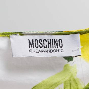 бирка Топ  Moschino Cheap and Chic
