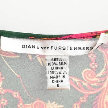 бирка Блуза Diane von Furstenberg