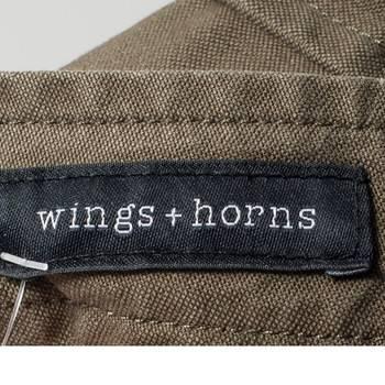 бирка Брюки  Wings + Horns