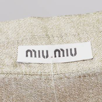 бирка Рубашка Miu Miu